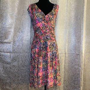 Nic + Zoe Multicolor Dress Size M